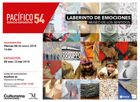 invitación laberinto de emociones Málaga